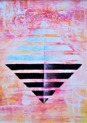 Original Acrylic on Canvas - Perceive the invisible 50x70 cm