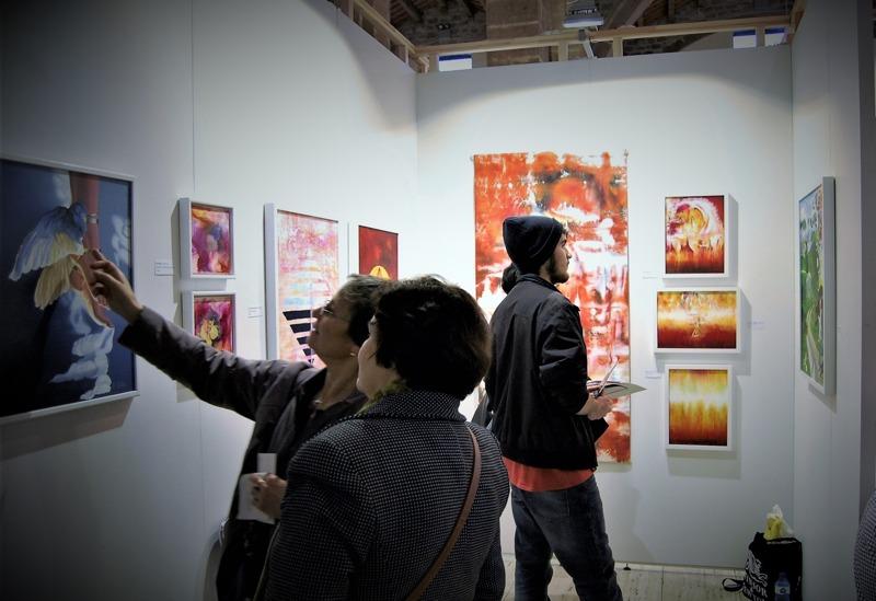 Barcelona International Art Fair, december 2016 ~ Min monter