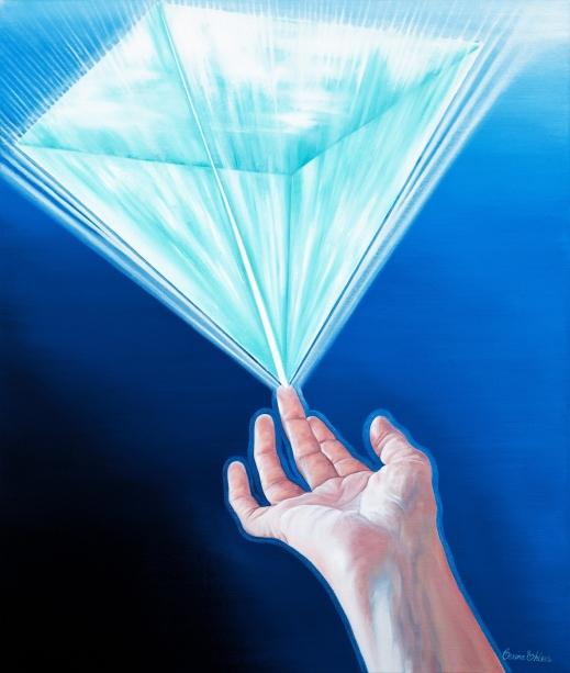EnergiBalans - 46x55 cm - Olja på canvas