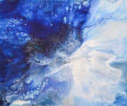 Originally - 18x15 cm - Akryl på canvas