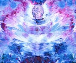 The Source - 18x15 cm - Akryl på canvas
