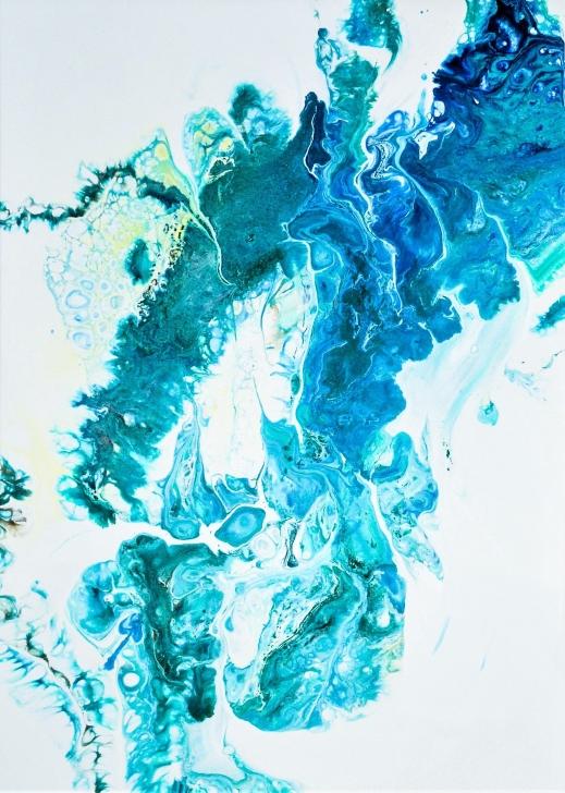 Boundless Connection - 70x50 cm - Akryl på canvas