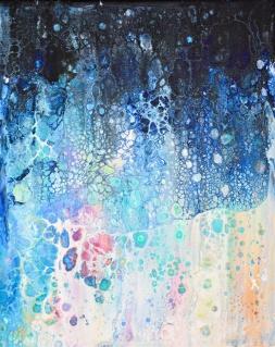 Forever Mindful - Akryl på canvas - 30x24 cm