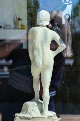 Min första skulptur som jag gjorde på Konstindustriskolan - 70-tal