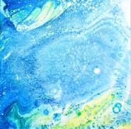 Outright - 20x20 cm - Akryl på canvas