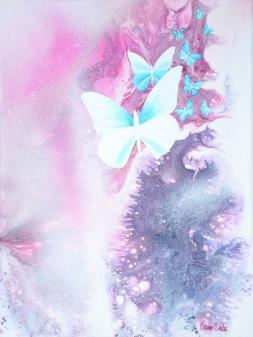 Tenderness - 30x40 cm - Akryl på canvas