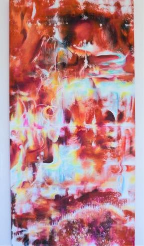 Viability - 162x81 cm - olja och akryl på canvas
