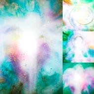 4 st akryl på canvas ~ i olika storlekar