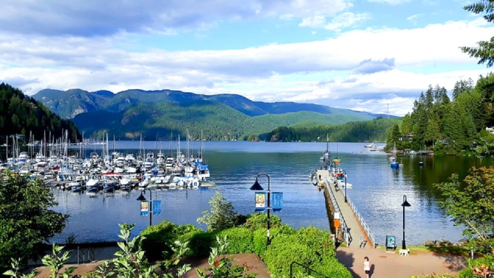 Deep Cove, Vancouver, Kanada - juni 2018