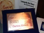Konstnärspris - Leonardo Da Vinci, 2015