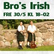 Biljett 30/5 - Irländsk Afton!