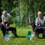 Bästa jaktprovsmeriterade Girifjällets GZ Lilo& Boss