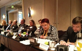 Maria Grinnik from FNPR Russia and Chairperson of BASTUN