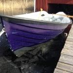 Båten en vårdag