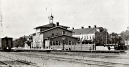 1880 mot söder - se perrongstaket