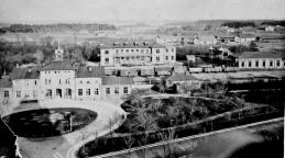 1889 vår efter bygge av Hotell Billingen
