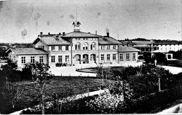 1890 med Norra Järnvägsparken