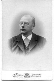 John Grönvall f. 1839 Bild troligen från 1910-talet enligt familjen.