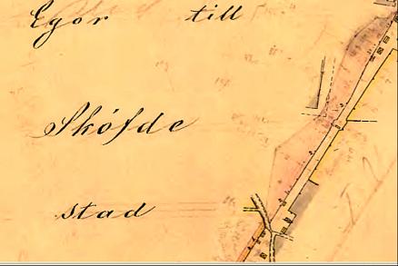 SAJ's huvudsakliga bangård fram till det blivande Vasaplan. (Lantmäteriets Historiska kartor)