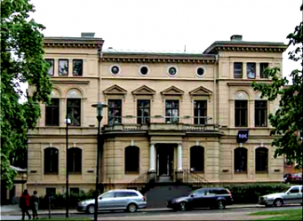 Cavallis Villa idag från Kyrkogatan