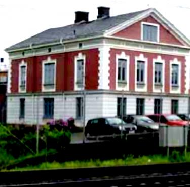 Det gamla kontorshuset idag.