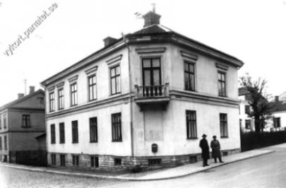 Långgatan/Lögegatan Bild från www.vykort.panatet.se 1960-tal