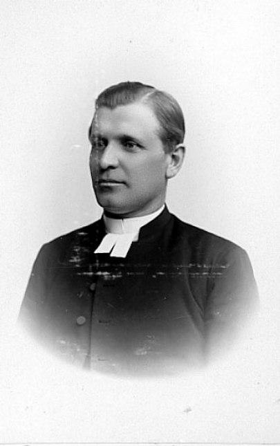 Johan Hemberg, Foto Maria Lundbäck, Uddevalla, tidigt 1890-tal Västergötlands Museum - bildarkivet/bildnummer: B145033:2100