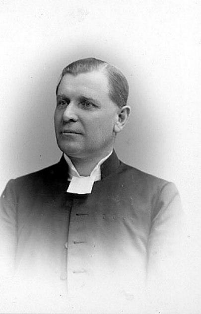 Prosten Hemberg, Skövde, senare i livet Foto Ludvig Erikson Västergötlands Museum - bildnummer: B145033:2101