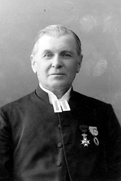 Prosten Hemberg - ännu något senare i livet. Foto Ludvig Ericson, Västergötlands Museum - bildarkivet/bildnummer: B145033:2113