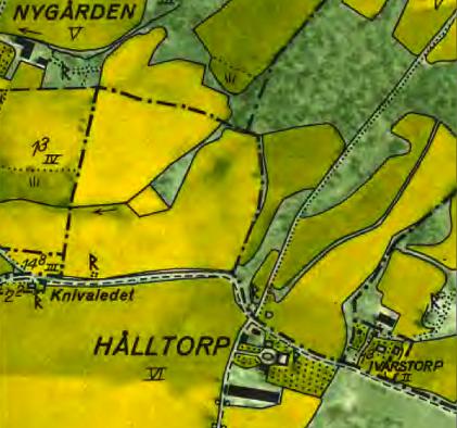 Karta 1960 (Lantmäteriet Historiska Kartor)