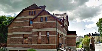 Torgilsgatan 9 idag - von Materns och senare Klingspors hus