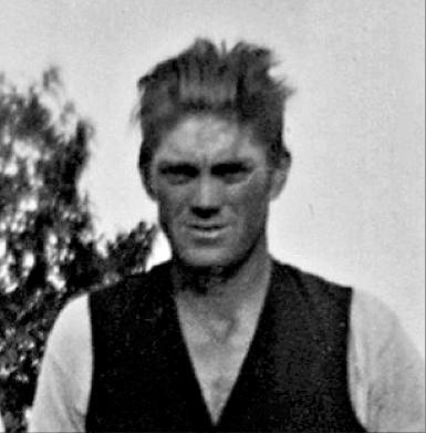 Ung Karl Mattsson - Stinas man (gifta 1935) från Blekinge.