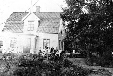 Bild ur Skarke-Varnhems Hembygdsförenings arkiv, 2013 - gm ordförande Bo Hermansson