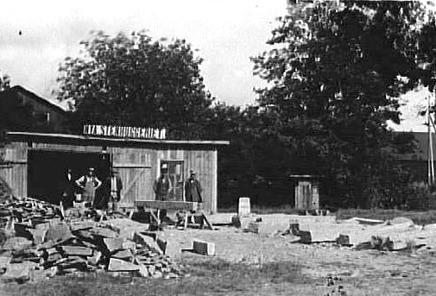 Nya Stenhuggeriet Carlsro från 1917 Västergötlands Museum - bildarkivet/bildnummer: A60837 Foto: Eriksén
