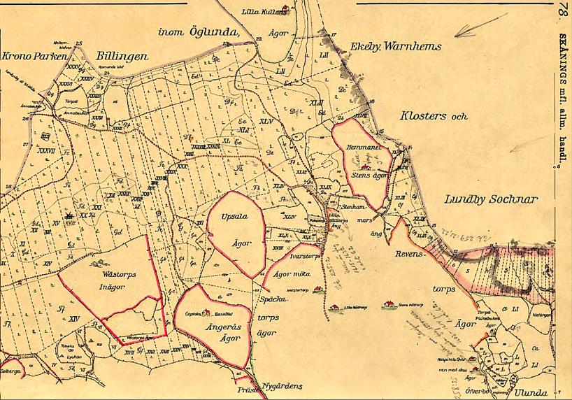 Klicka på kartan för att se den större! Karta 1794 - Lantmäteriets Historiska Kartor
