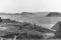 13 Vy mot fabriken o Åbyfjordens mynning m berg nedan Knapes hus i förgrunden 1965