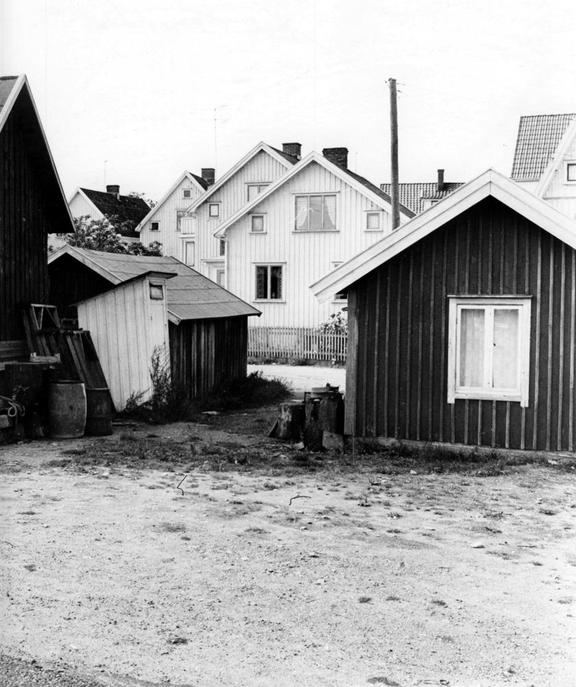 Bodar och små hus. 1963