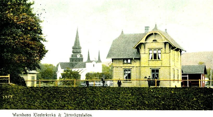 Bild från vykort