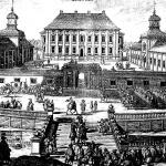 Höjentorps slott på ett kopparstick från år 1694. Ur Suecia antiqua et hodierna. Garnisonsmuseet 53-1068
