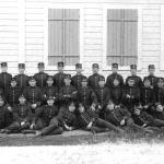 Soldater Axvall i början av 1900.  Garnisonsmuseet 173-2204