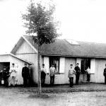 Västgöta-lägret, Axvalla hed taget under Flygskolans verksamhet 1912.  Garnisonsmuseet 1204-1601