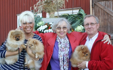 Our guest of honour, Gunilla Edgren at Kennel Tom Puss