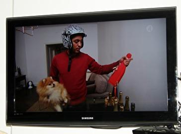 Milton och Alex på TV i Halv 8 hos mig