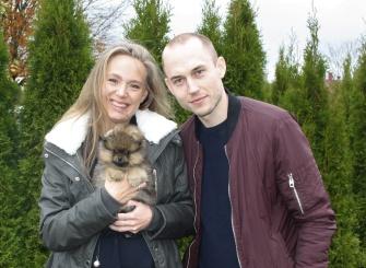 Sandra och Fredrik tillsammans med Viribus
