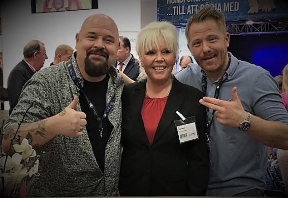 Anders Bagge, Susann och Fredrik Steen