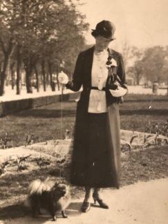 Grevinnan Blanche Bonde med Dolly II