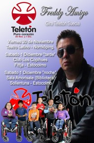 CHILE`S DESABLE CHILDREN GALA 30 NOV. 1 DEC.