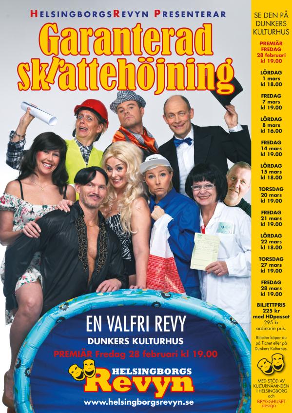 Garanterad Skrattehöjning - En valfri revy 2014