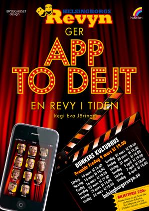 App to dejt - En revy i tiden 2012