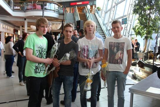 Sebastian, Max, Ludwig and Alexander - Voodoo Monk